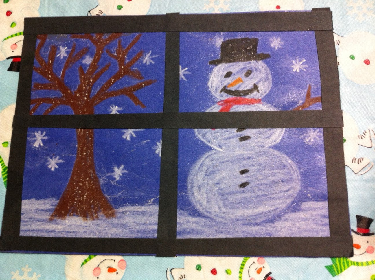 Best ideas about Winter Art Projects For Kids . Save or Pin Kindergarten Kids At Play Fun Winter & Christmas Craftivities Now.