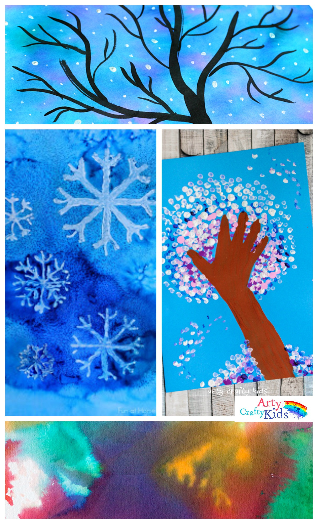 Best ideas about Winter Art Projects For Kids . Save or Pin 14 Wonderful Winter Art Projects for Kids Now.