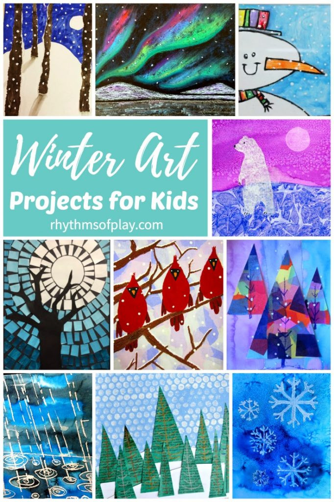 Best ideas about Winter Art Projects For Kids . Save or Pin The Best Winter Art Projects for Kids and Teens Now.
