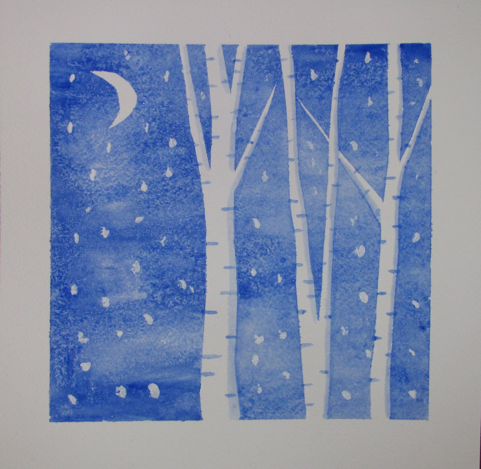 Best ideas about Winter Art Projects For Kids . Save or Pin Lost Persons Homeschool Winter Art Now.