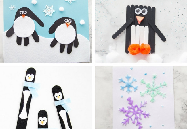 Best ideas about Winter Craft Idea For Kids . Save or Pin 100 Easy Craft Ideas for Kids The Best Ideas for Kids Now.