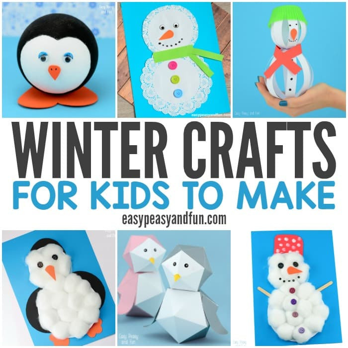 Best ideas about Winter Craft Idea For Kids . Save or Pin Winter Crafts for Kids to Make Fun Art and Craft Ideas Now.