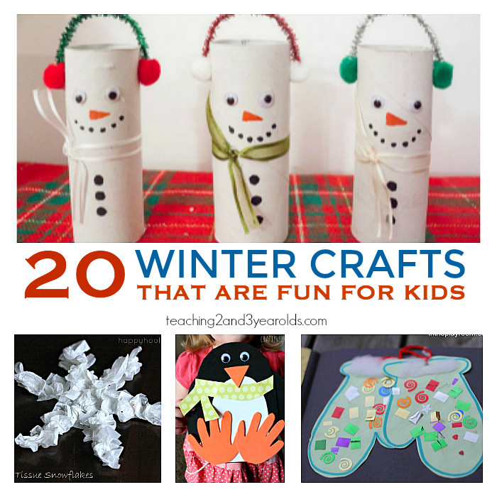 Best ideas about Winter Craft Idea For Kids . Save or Pin 20 Fun Preschool Winter Crafts Now.