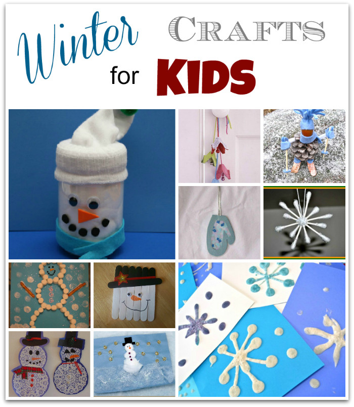 Best ideas about Winter Craft Idea For Kids . Save or Pin 10 Winter Crafts for Kids Living Well Mom Now.
