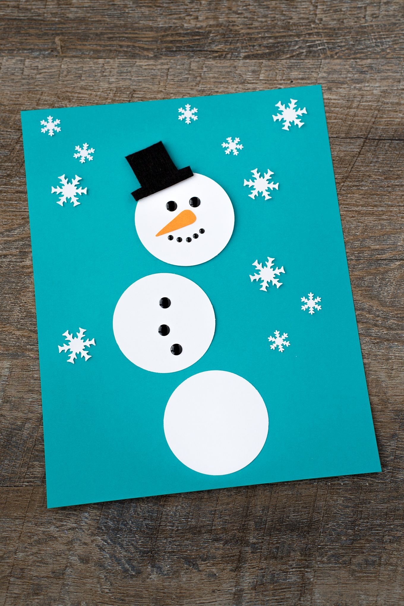Best ideas about Winter-Crafts-For-Kids At Home . Save or Pin The Happiest Paper Snowman Craft for Kids Now.