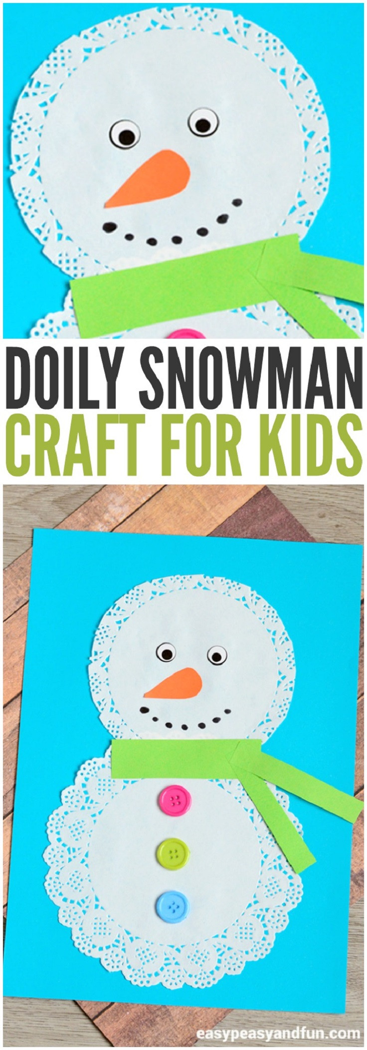 Best ideas about Winter-Crafts-For-Kids At Home . Save or Pin 14 Jingling Winter Crafts for Kids to Bring Flurries and Now.