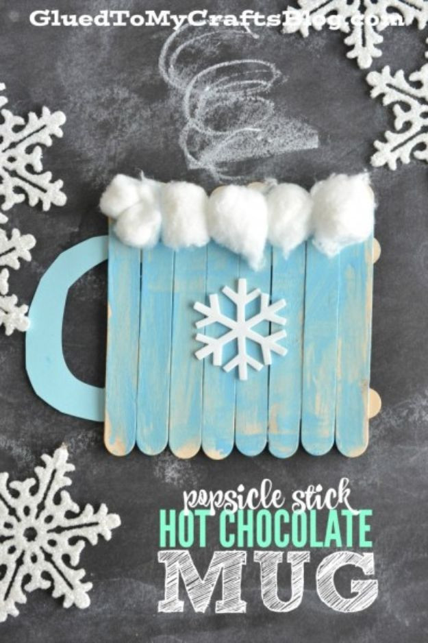 Best ideas about Winter-Crafts-For-Kids At Home . Save or Pin 35 Winter Crafts for Kids Now.