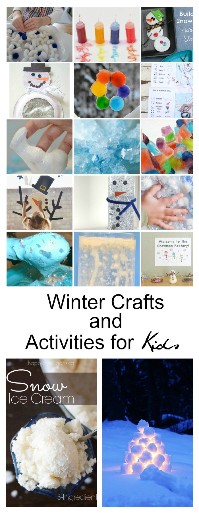 Best ideas about Winter Crafts For Kids . Save or Pin Winter Crafts and Activities for Kids The Idea Room Now.