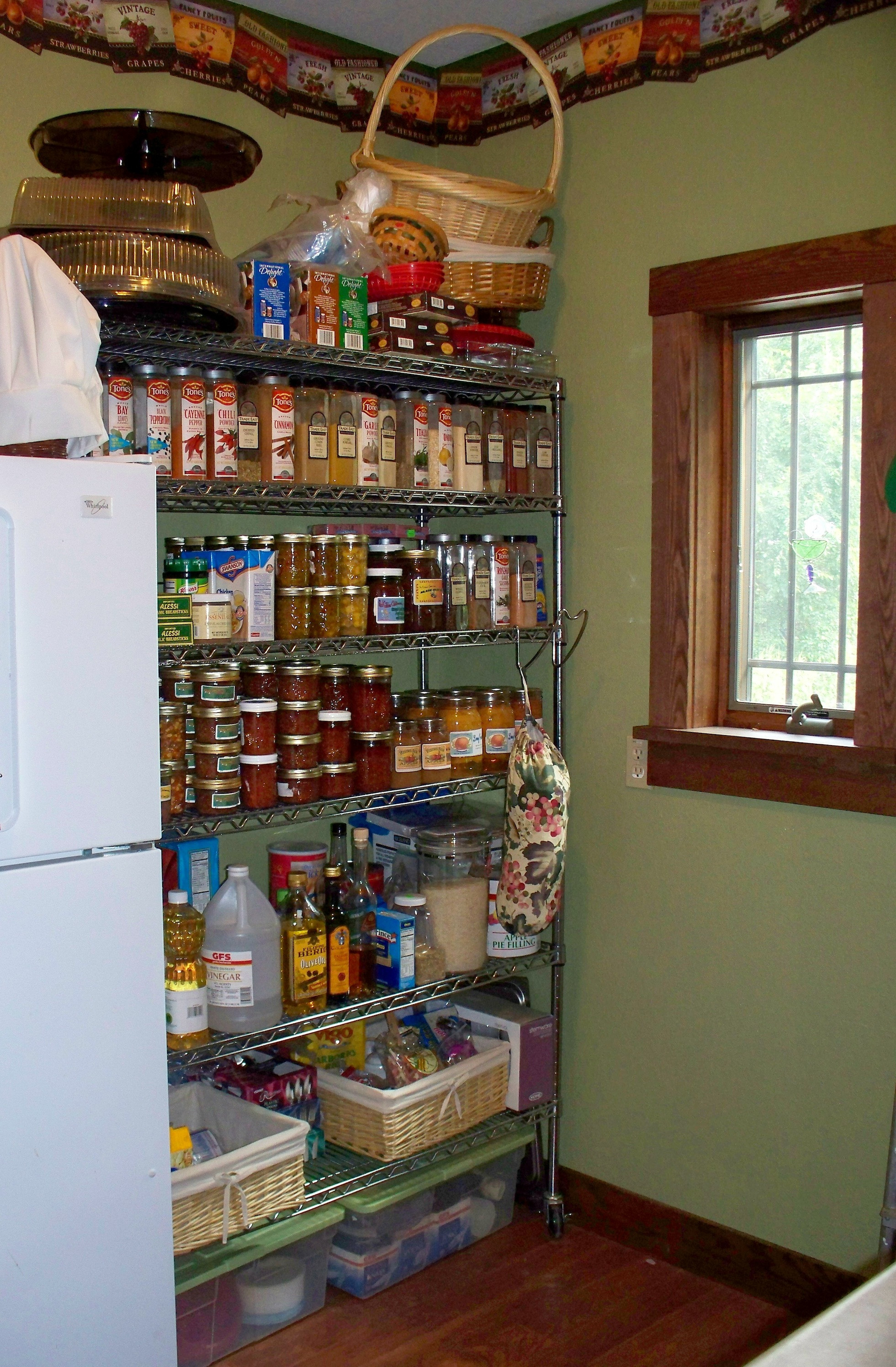 Best ideas about Wire Pantry Shelving . Save or Pin butler's pantry Now.