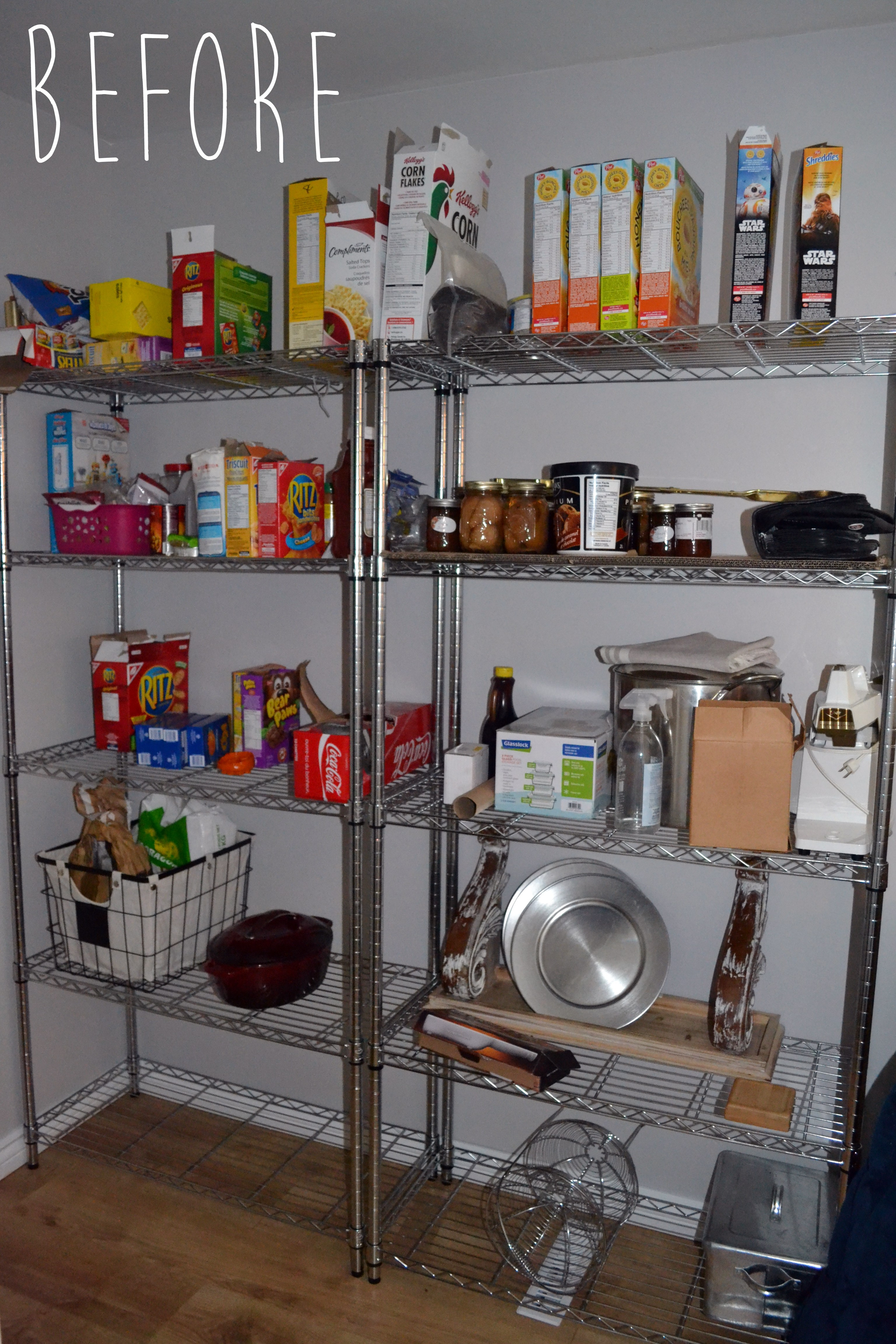 Best ideas about Wire Pantry Shelving . Save or Pin The Crux You Won t Believe This Easy Pantry Shelving Now.