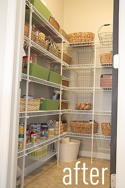 Best ideas about Wire Pantry Shelving . Save or Pin HOUSE TWEAKING Now.