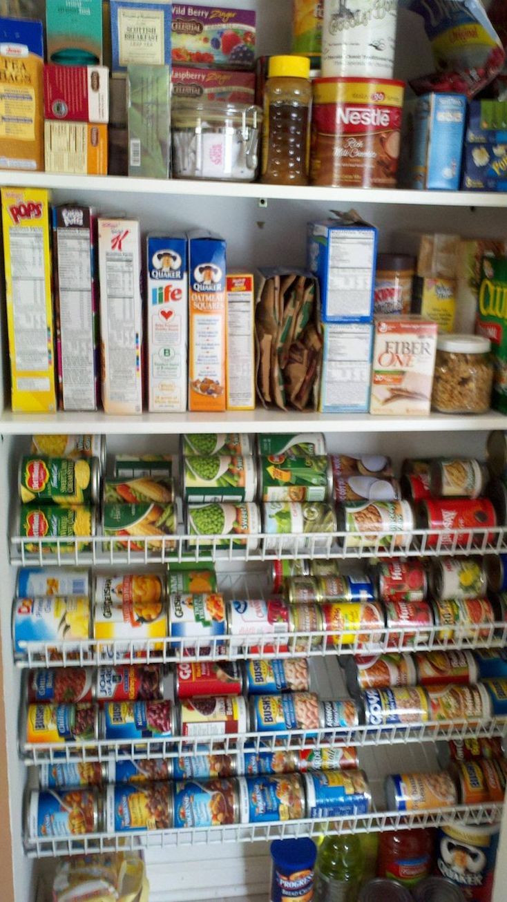 Best ideas about Wire Pantry Shelving . Save or Pin Creative Pantry Organizing Ideas and Solutions Now.