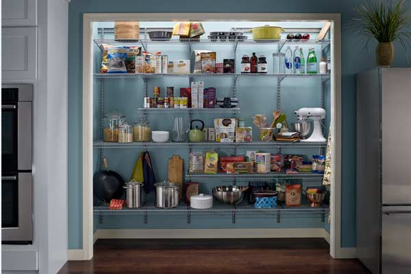 Best ideas about Wire Pantry Shelving . Save or Pin Elite Closets Wire Shelving Now.