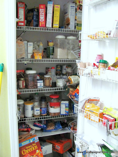 Best ideas about Wire Pantry Shelving . Save or Pin Kitchen Pantry Makeover DIY Installing Wood Wrap Around Now.