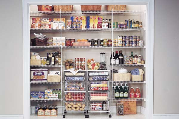 Best ideas about Wire Pantry Shelving . Save or Pin Elite Closets Kitchen & Pantry Now.