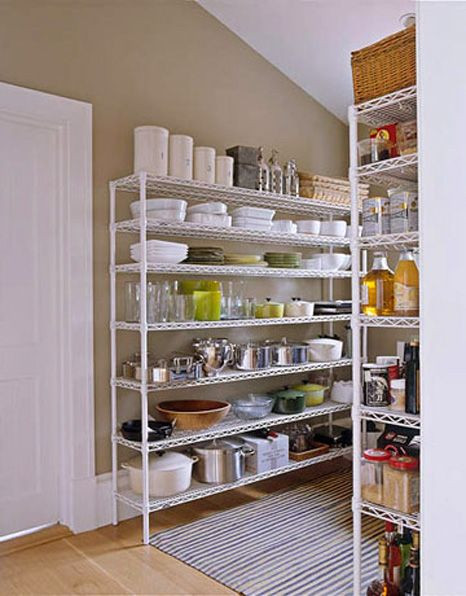 Best ideas about Wire Pantry Shelving . Save or Pin Image of the Barefoot Contessa s Wire Shelf Pantry Now.