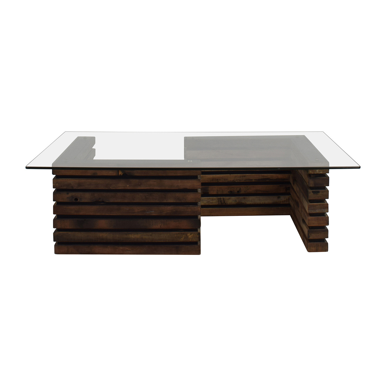 Best ideas about Wood And Glass Coffee Table . Save or Pin Tables Used Tables for sale Now.