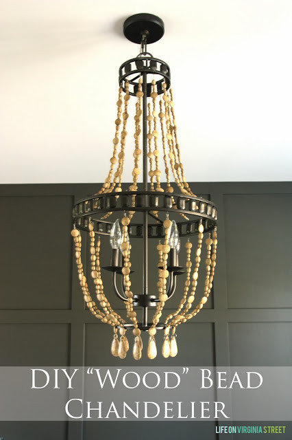 Best ideas about Wood Bead Chandelier DIY . Save or Pin 18 Awesome Knock f Projects Get Your DIY on Features Now.