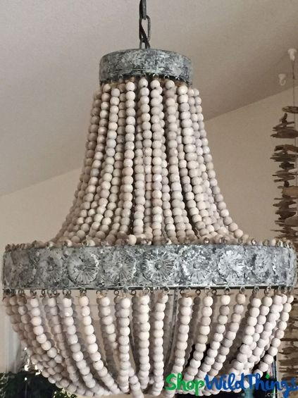 Best ideas about Wood Bead Chandelier DIY . Save or Pin Best 20 Wooden chandelier ideas on Pinterest Now.