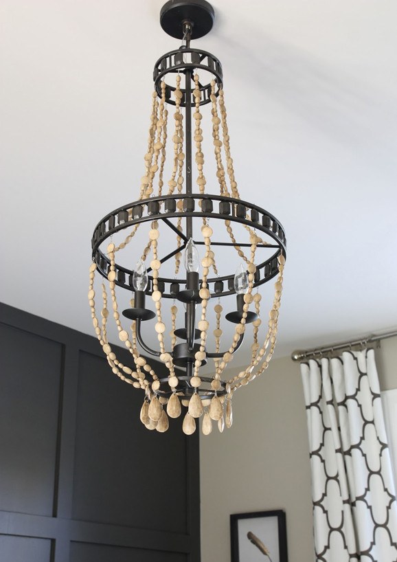 Best ideas about Wood Bead Chandelier DIY . Save or Pin 22 DIY Chandelier Ideas Now.