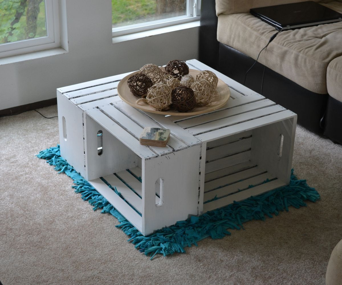 Best ideas about Wood Crate Coffee Table . Save or Pin 39 Wood Crate Storage Ideas That Will Have You Organized Now.