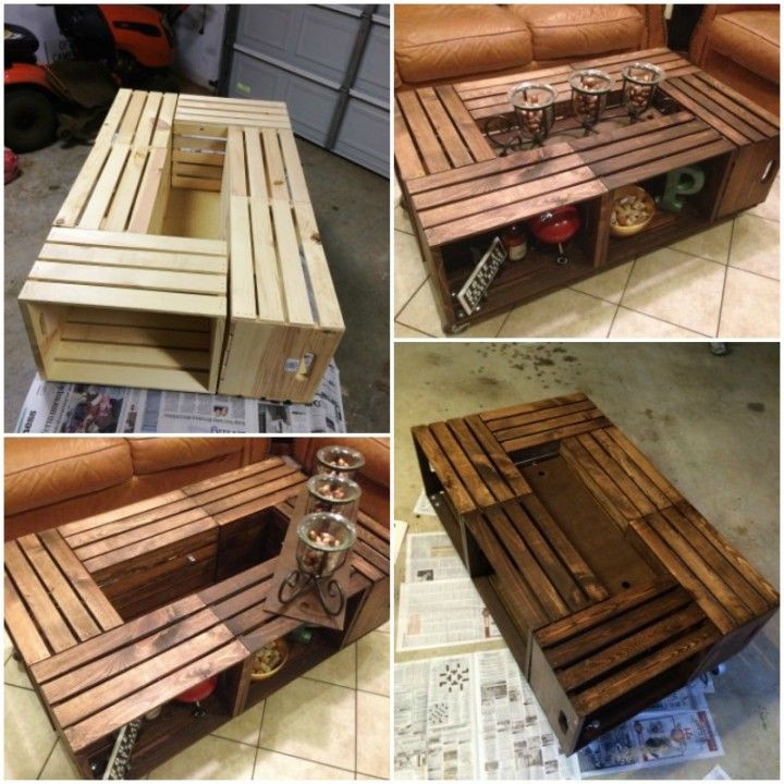 Best ideas about Wood Crate Coffee Table . Save or Pin 25 best Crate coffee tables ideas on Pinterest Now.