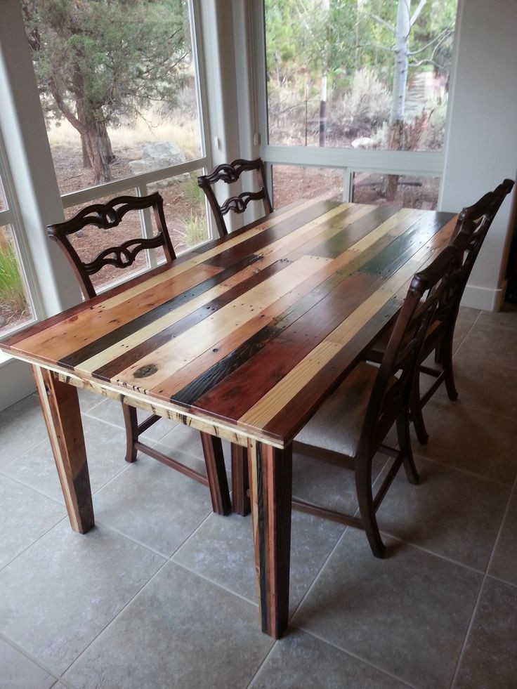 Best ideas about Wood Dining Room Table . Save or Pin Stunningly Beautifull Pallet Wood Creations By Ex Nihilo Now.