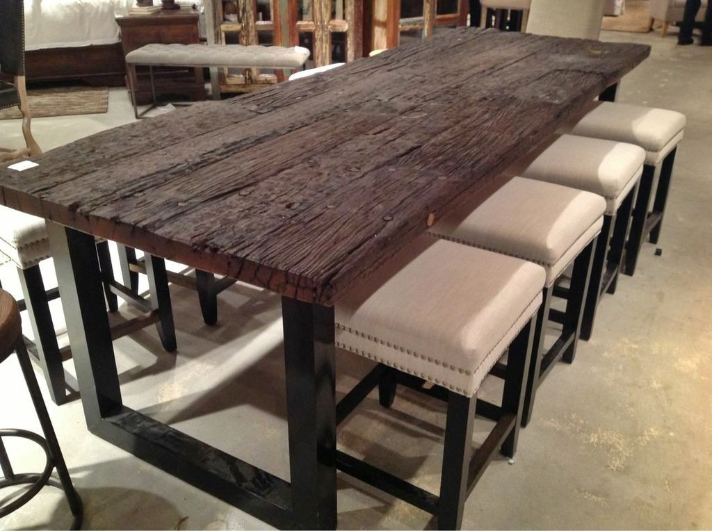 Best ideas about Wood Dining Room Table . Save or Pin Take a look at this chic and contemporary reclaimed wood Now.