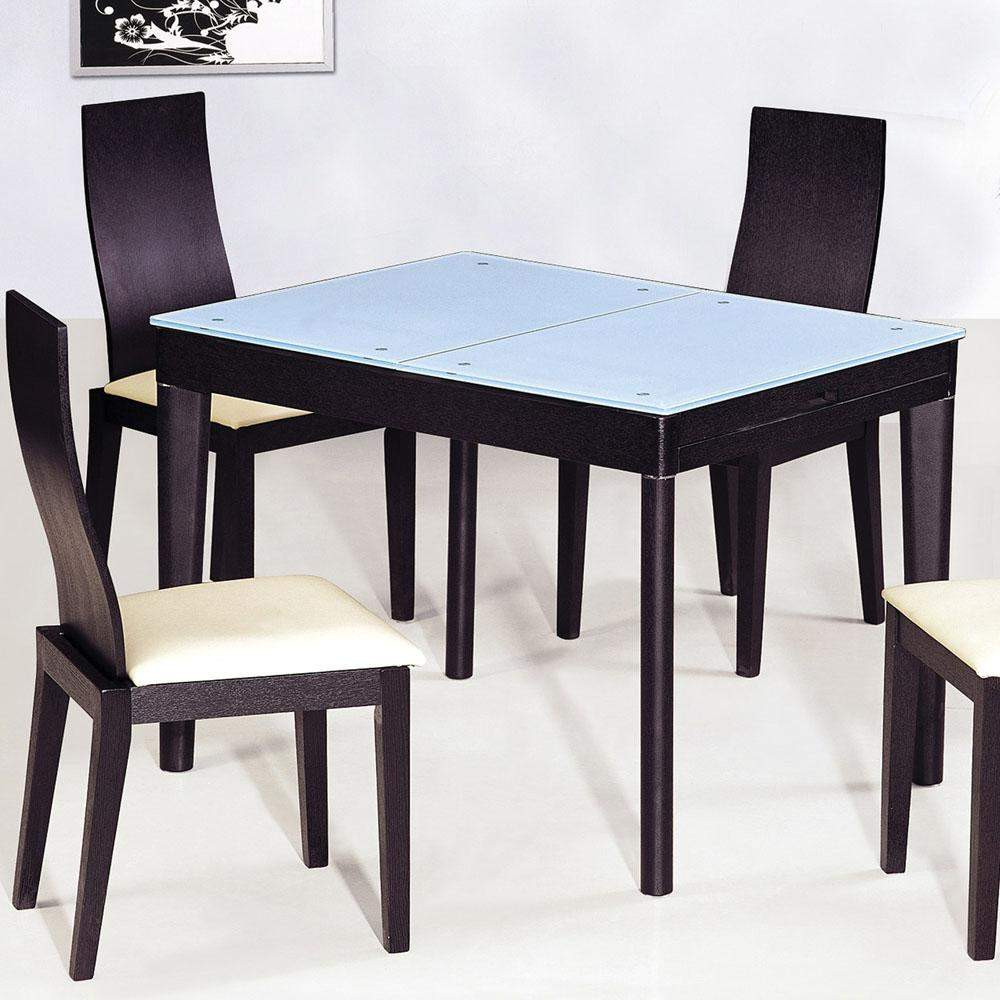 Best ideas about Wood Dining Room Table . Save or Pin Contemporary Functional Dining Room Table in Black Wood Now.