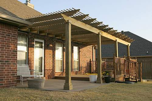 Best ideas about Wood Patio Covers . Save or Pin Installing and Repairing Patio Covers and Gutters Now.