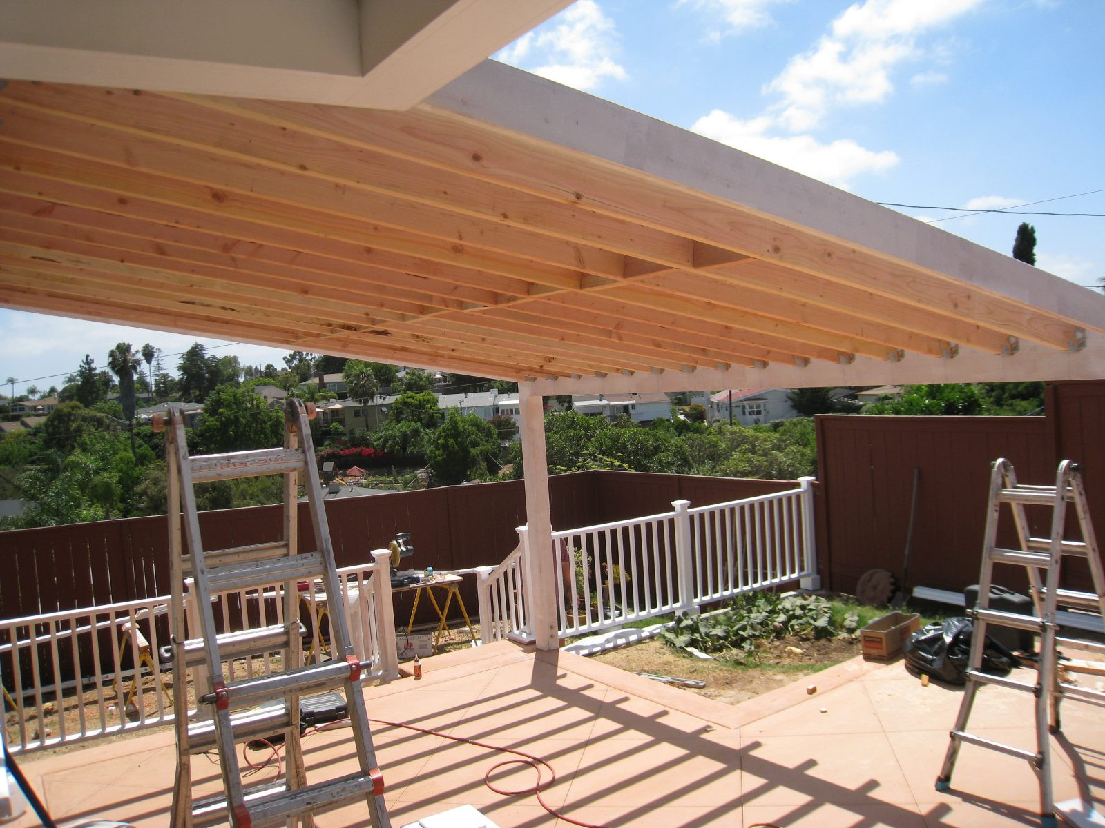 Best ideas about Wood Patio Covers . Save or Pin Wooden Beams for Pergolas Roof Dap fice Dap fice Now.
