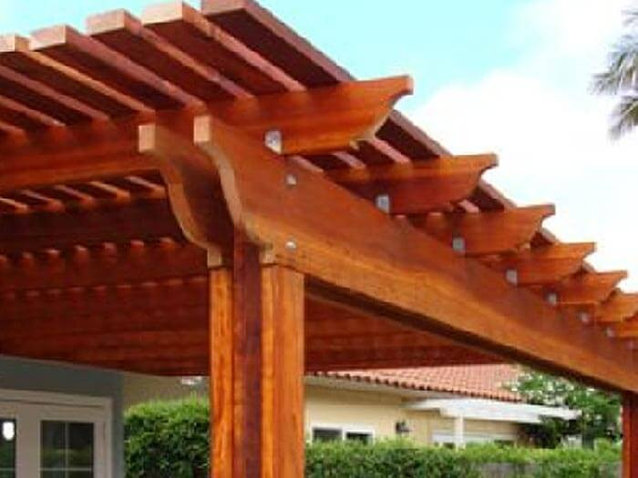Best ideas about Wood Patio Covers . Save or Pin Patio Cover Kits Now.