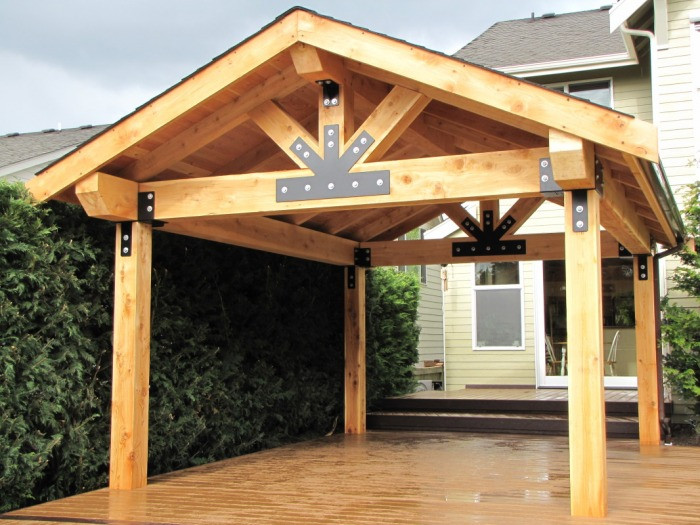 Best ideas about Wood Patio Covers . Save or Pin Wooden Patio Covers Give High Aesthetic Value and Best Now.