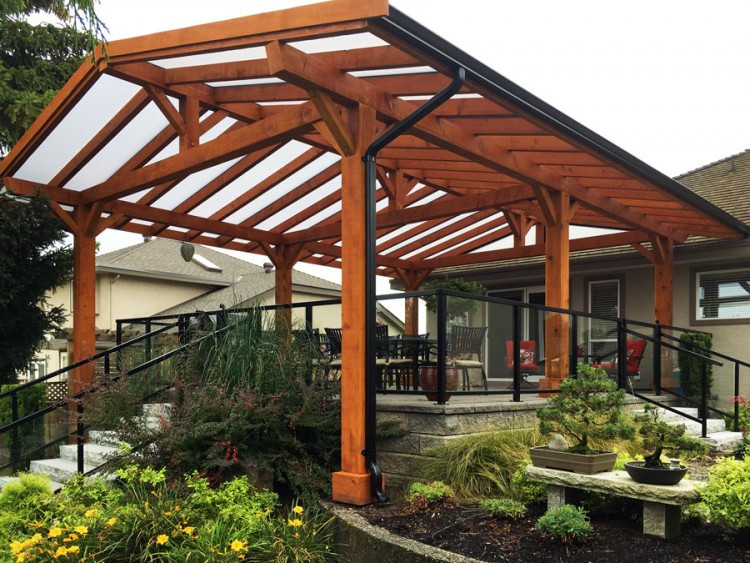 Best ideas about Wood Patio Covers . Save or Pin Patio Cover Options Now.