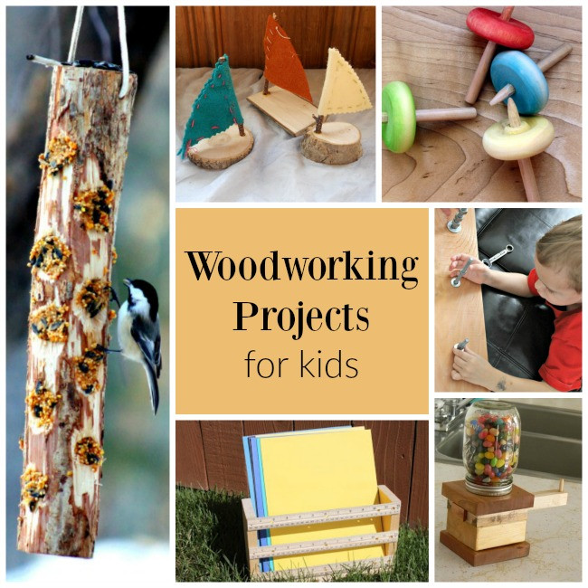 Best ideas about Wooden Craft Ideas For Kids . Save or Pin Incredible Woodworking Projects for Handy Kids How Wee Now.