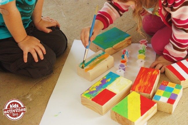 Best ideas about Wooden Craft Ideas For Kids . Save or Pin 50 PERFECT Crafts for 2 Year Olds How Wee Learn Now.