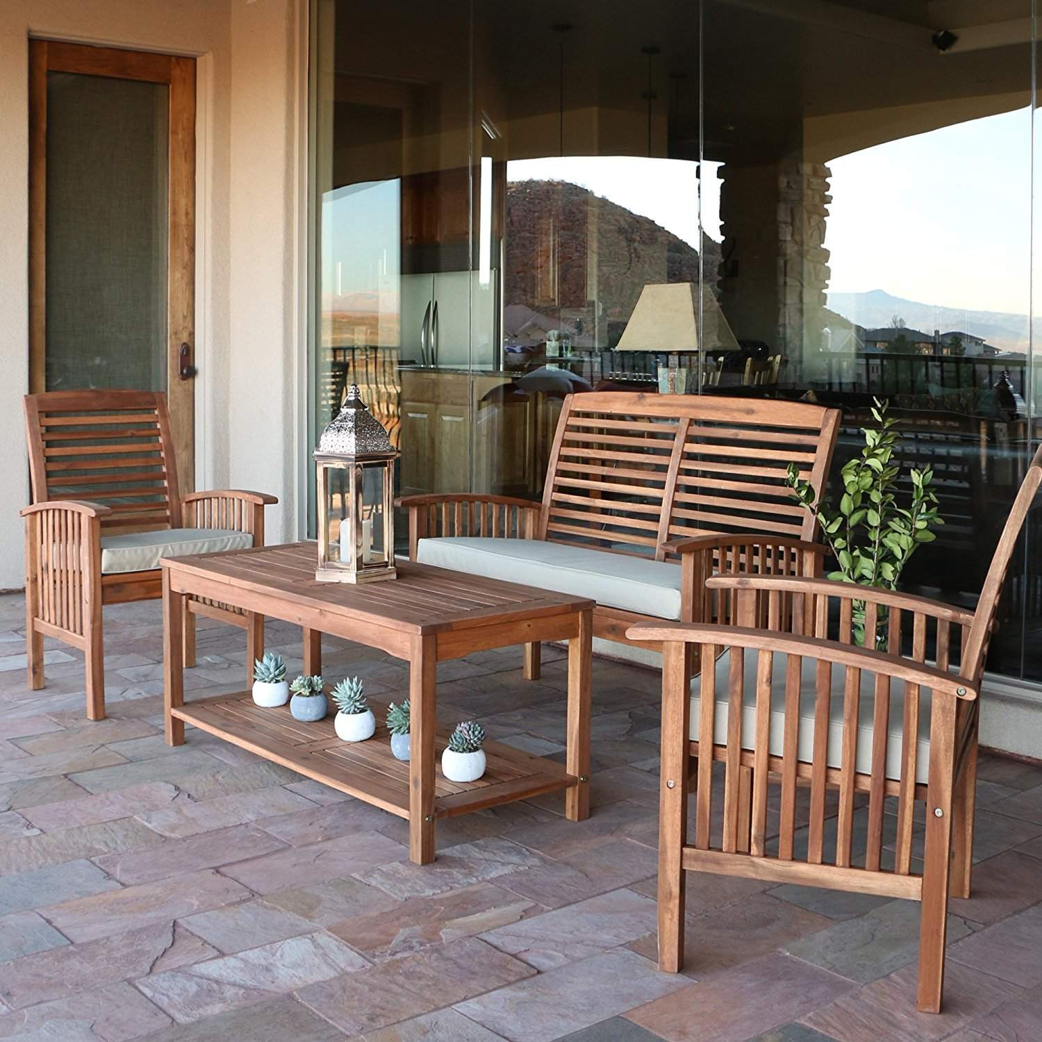 Best ideas about Wooden Patio Furniture . Save or Pin Top 10 Best Garden Furniture Sets 2018 Now.
