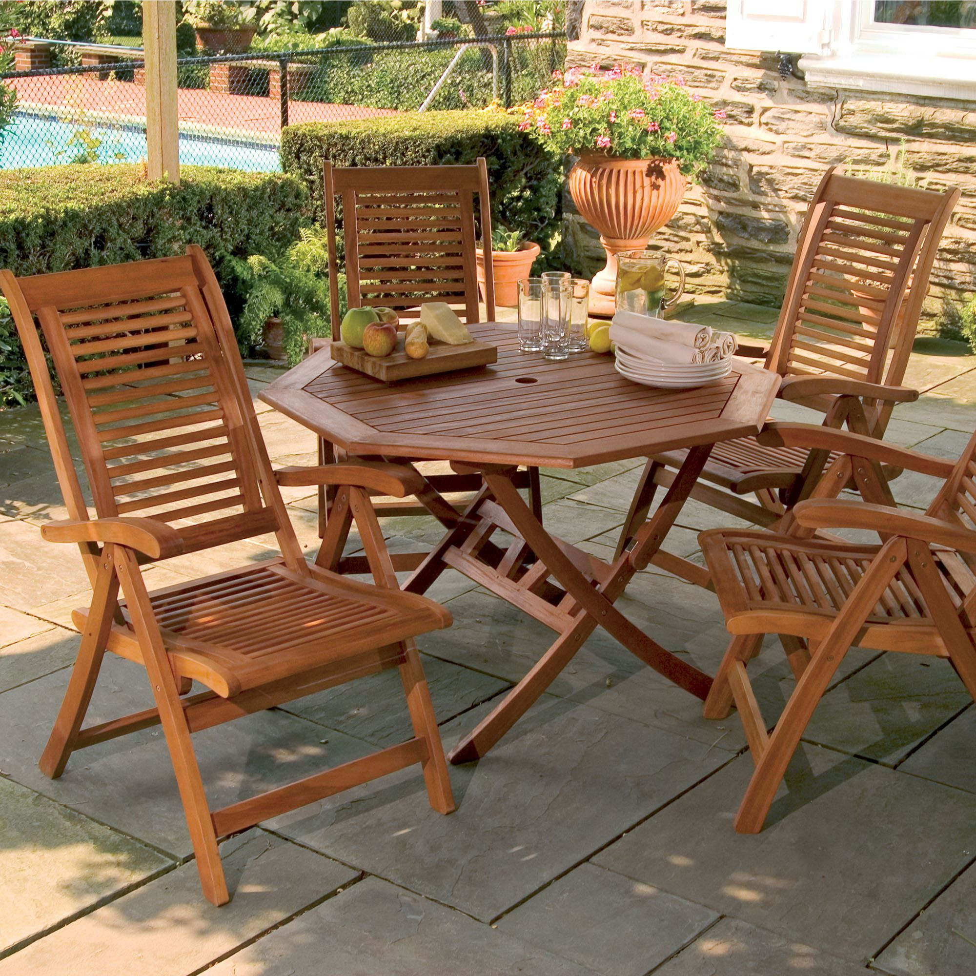 Best ideas about Wooden Patio Furniture . Save or Pin Lanai Wood Patio Furniture Now.