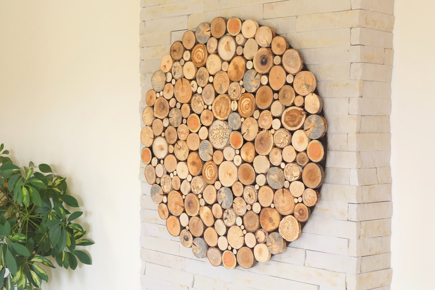 Best ideas about Wooden Wall Art . Save or Pin modern wall wood art Round wooden wall wooden decor Tree Now.