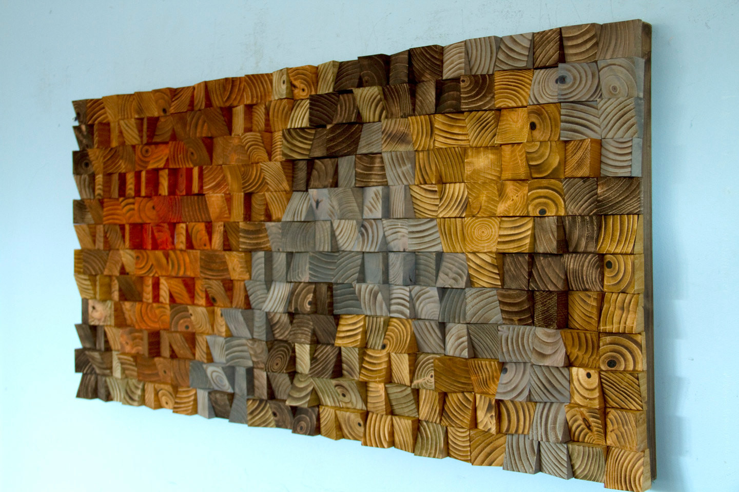 Best ideas about Wooden Wall Art . Save or Pin Rustic Wood wall Art wood wall sculpture abstract wood art Now.