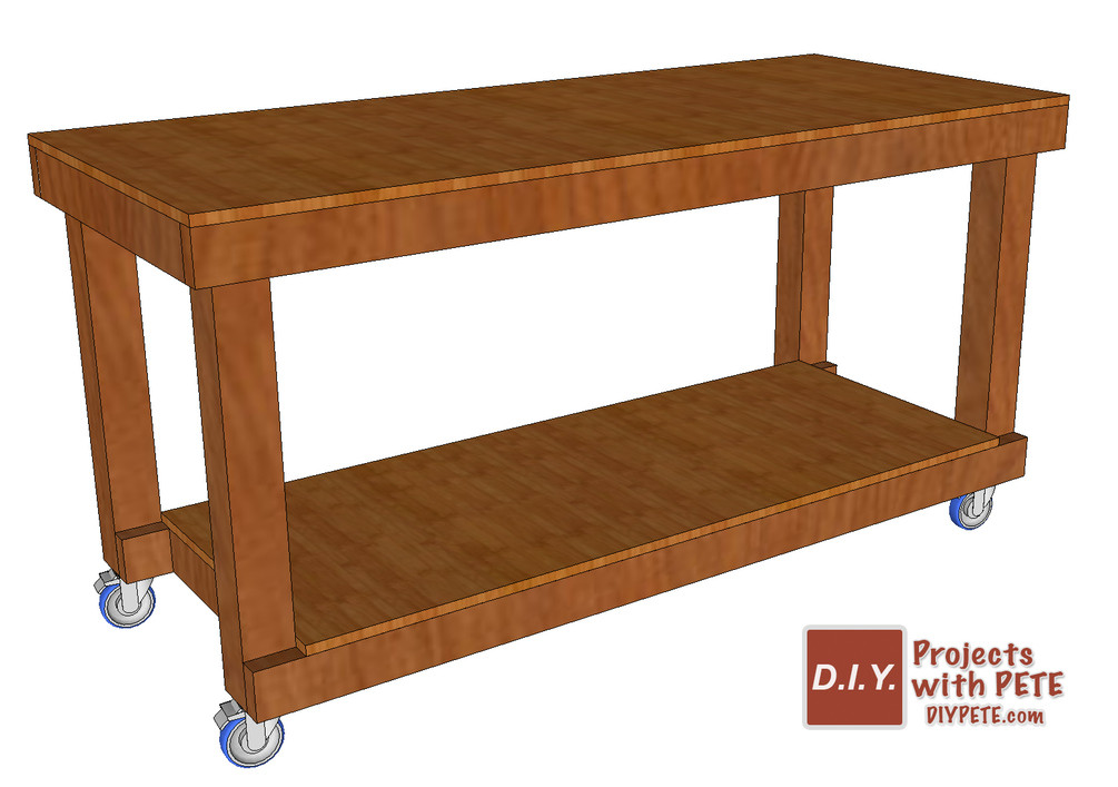 Best ideas about Workbench DIY Plans . Save or Pin DIY Simple Workbench Plans Now.