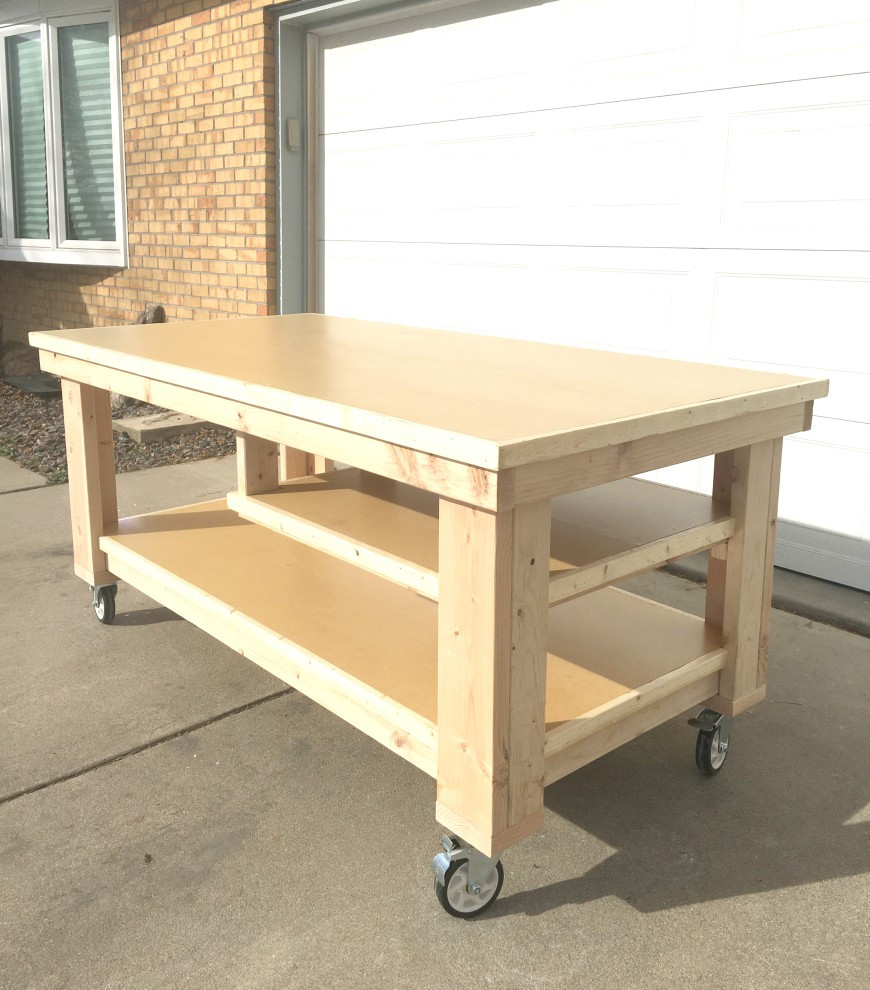 Best ideas about Workbench DIY Plans . Save or Pin How to Build the Ultimate DIY Garage Workbench FREE Plans Now.