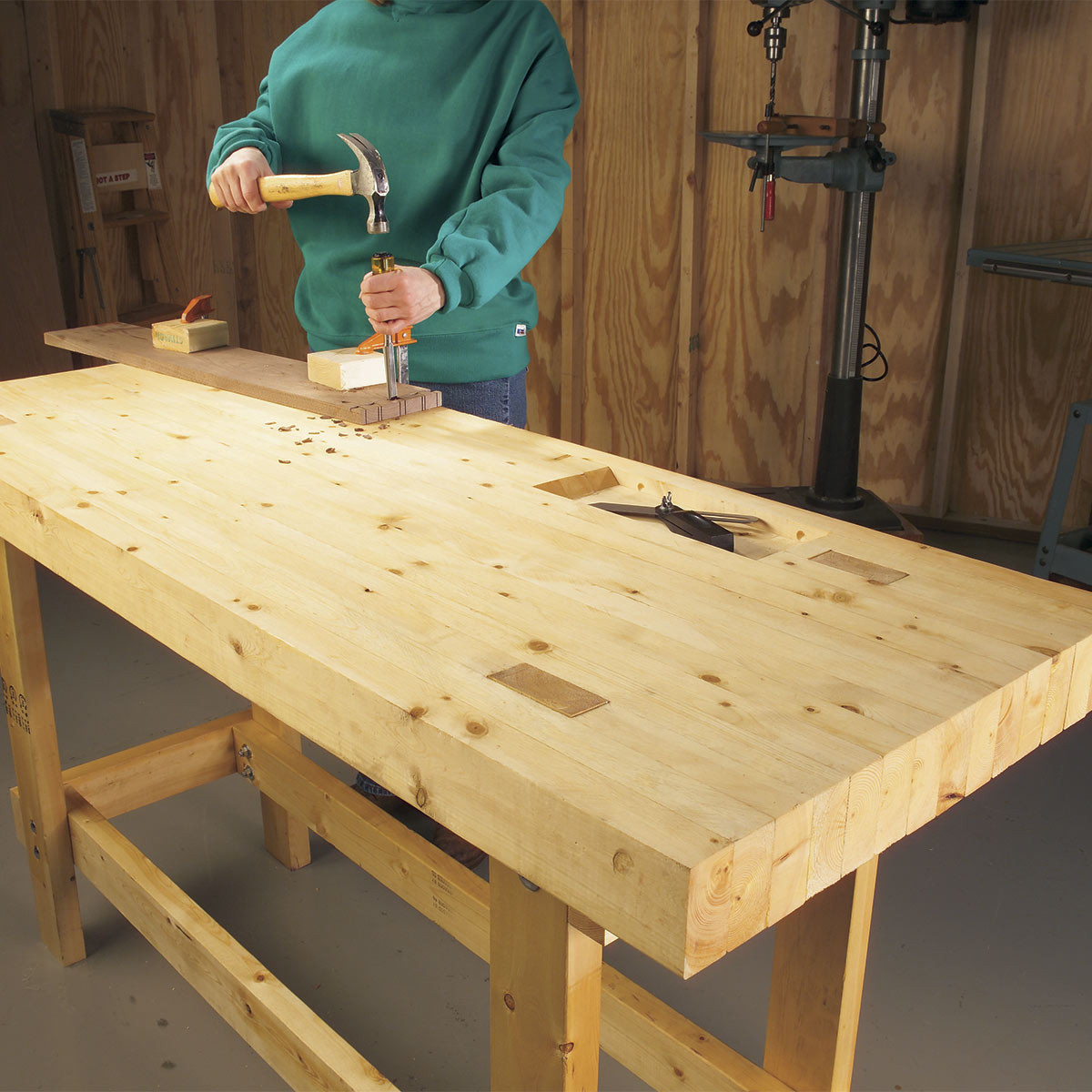 Best ideas about Workbench DIY Plans . Save or Pin 12 Super Simple Workbenches You Can Build — The Family Now.