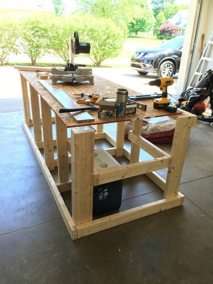 Best ideas about Workbench DIY Plans . Save or Pin I built a mobile workbench in 2019 garage Now.