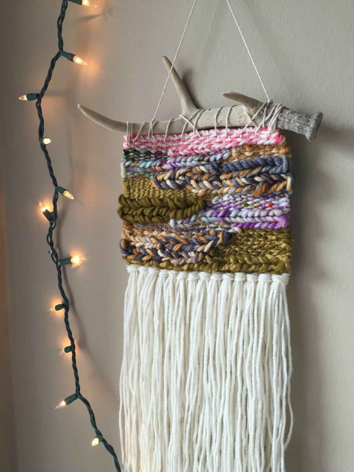 Best ideas about Woven Wall Art . Save or Pin woven wall hanging bohemian tapestries weaving wall Now.