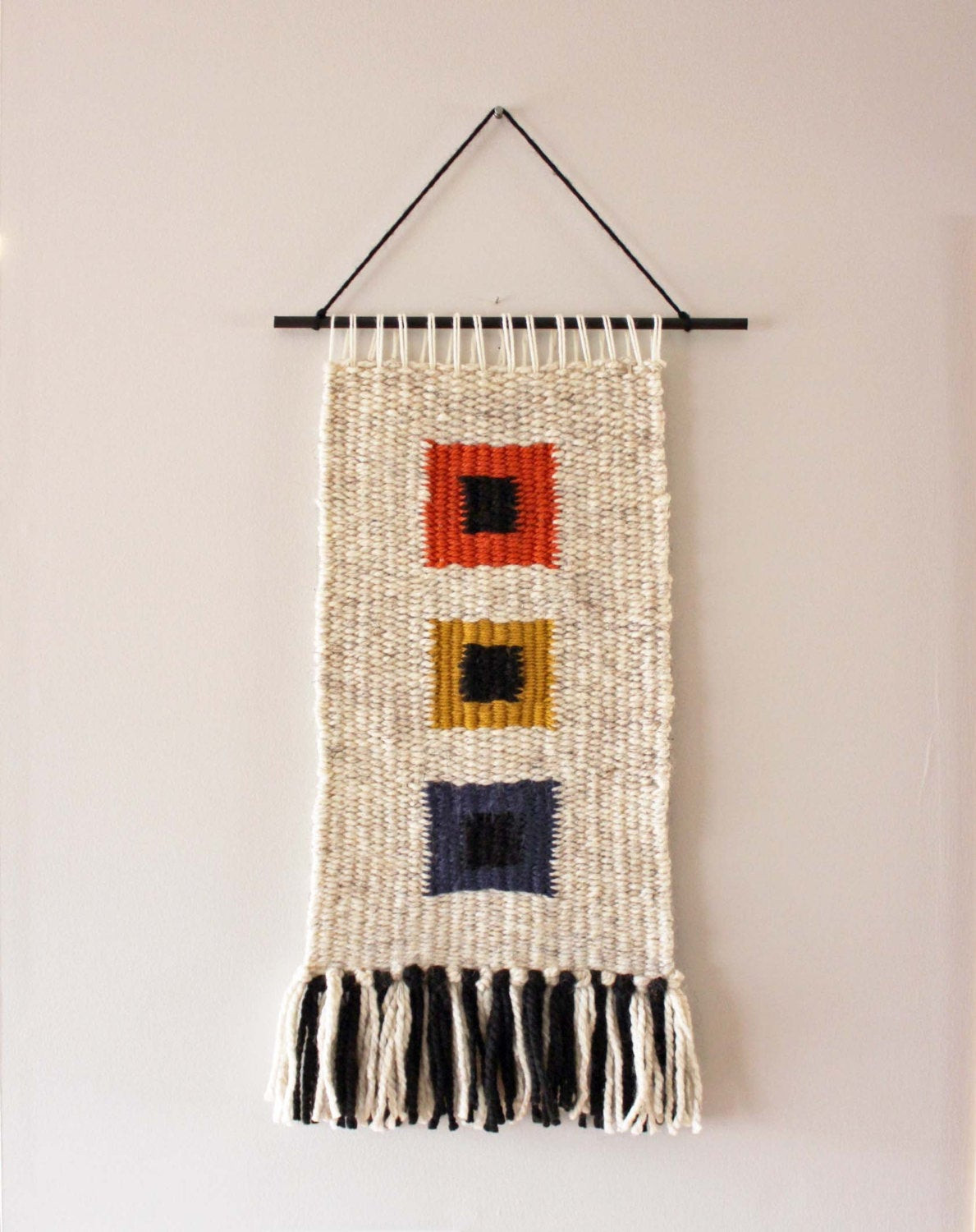 Best ideas about Woven Wall Art . Save or Pin Woven Wall Hanging Weaving Woven Wall Art Fiberart Now.