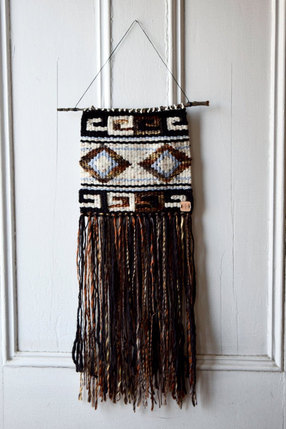 Best ideas about Woven Wall Art . Save or Pin Woven Wall Hanging Tapestry Wall Art Home Decor Boho Home Now.