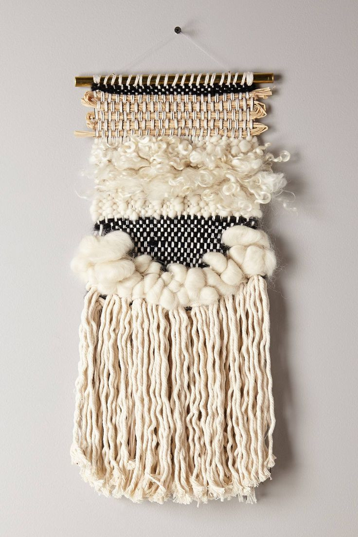 Best ideas about Woven Wall Art . Save or Pin 15 Chic Woven Wall Hangings MOTHER Now.