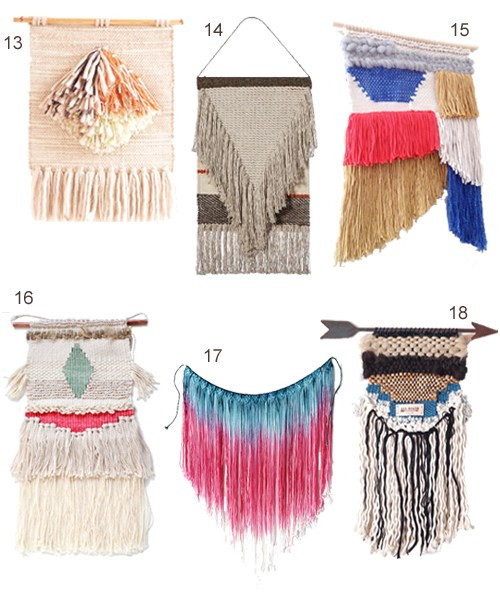 Best ideas about Woven Wall Art . Save or Pin 18 Woven Wall Hangings Now.
