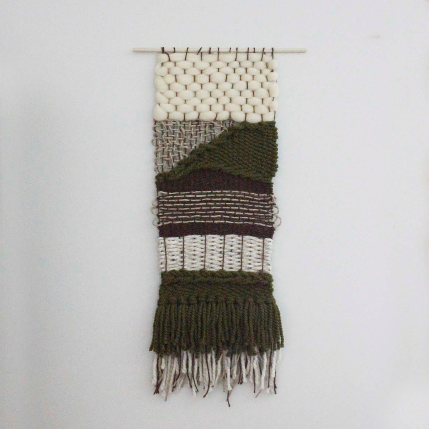 Best ideas about Woven Wall Art . Save or Pin Modern Woven Wall Hanging Woven Wall Art Weaving Tapestry Now.